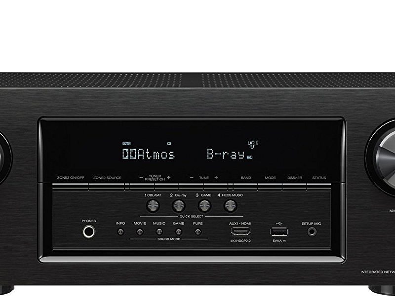 Denon AVR-S930h Review, 7.2 Channel AV Receiver, Works with Alexa