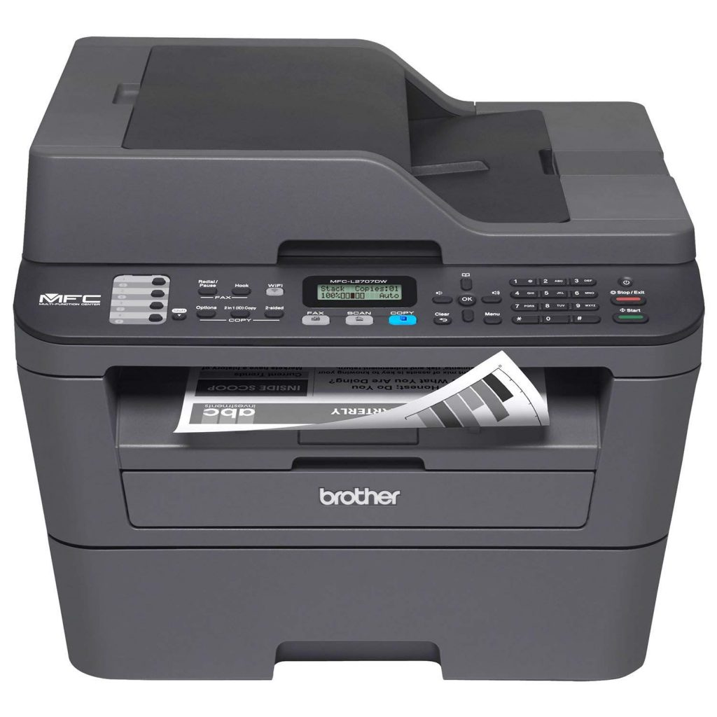 Brother MFC-L2707DW All-in-One Laser Printer
