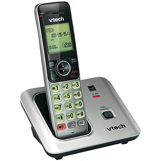 The VTech CS6619 Dect 6.0 1-Handset Cordless Telephone