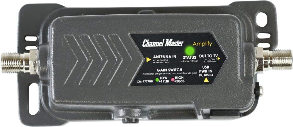 Channel Master CM-7777HD TV Antenna Amplifier with Adjustable Gain