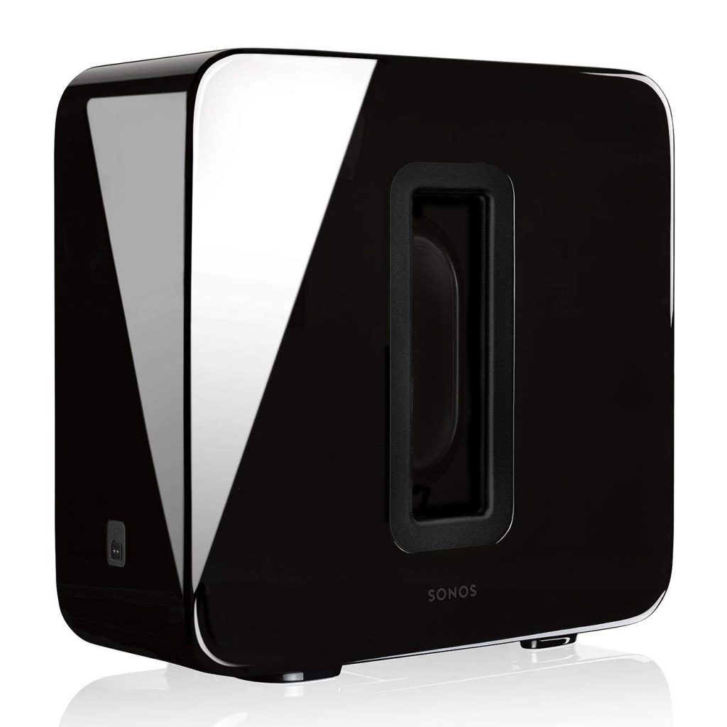 Sonos Sub – Wireless Subwoofer that adds bass to your home theater and your music. (Black)