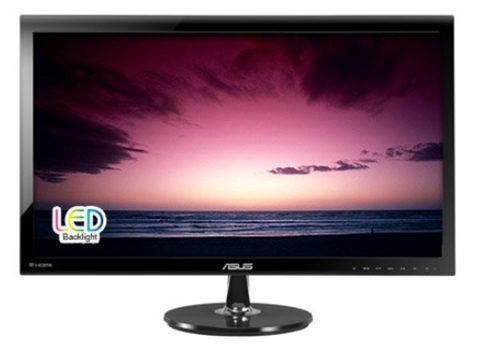 ASUS VS278Q-P 27_ Full HD 1920x1080 1ms DisplayPort HDMI VGA Monitor