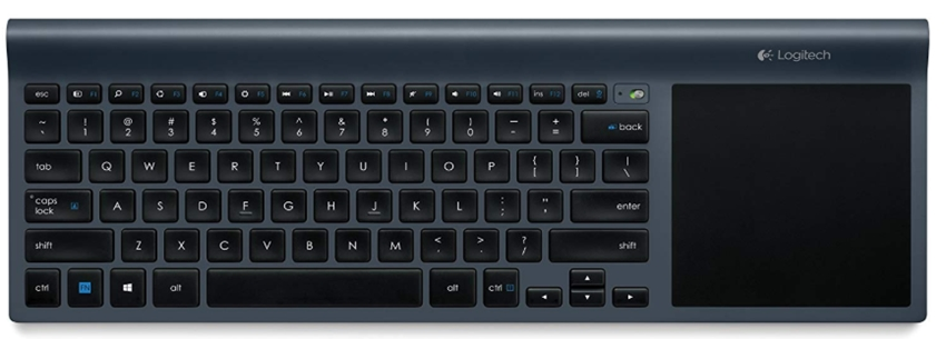 Logitech Wireless All-In-One Keyboard TK820 with Built-In Touchpad_