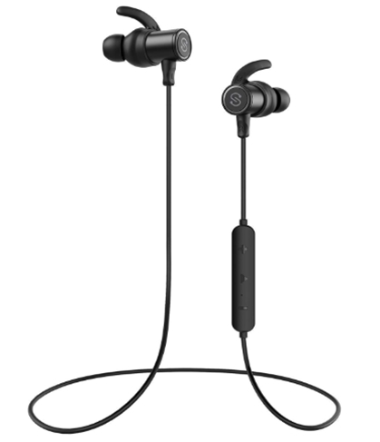 SoundPEATS Bluetooth Earphones, Wireless 4.1 Magnetic Earphones, in-