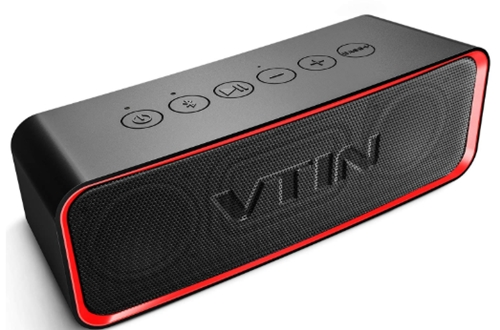 Vtin Portable Bluetooth Speaker with IPX6 Waterproof, 14W Loud Stere