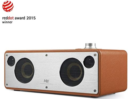 WiFi Bluetooth Speaker, GGMM Dual Wireless Speaker with Music Stream