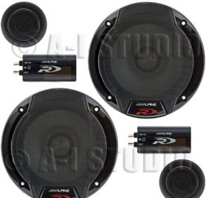 Alpine SPR-60C 6.5_ Car Audio Component System (Pair)_ Cell Phones &