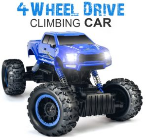 DOUBLE E 1_12 RC Cars Monster Truck 4WD Dual Motors Rechargeable Off