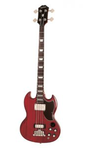 Epiphone EB-3 Electric Bass Guitar, 2 Pickups, Cherry_ Musical Instr