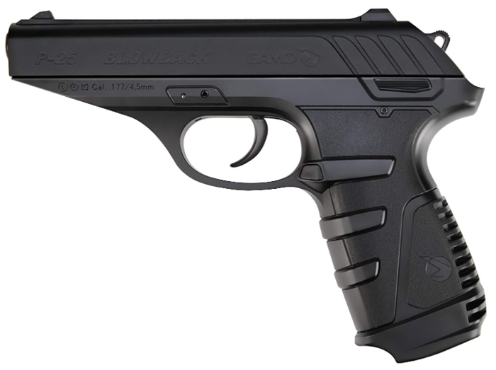 Gamo 611138054 P-25 Blowback CO2 Powered .177 Caliber Air Pistol _