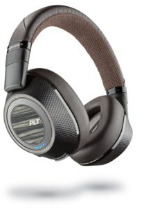Plantronics Wireless Noise Cancelling Backbeat - Headphones (Black &