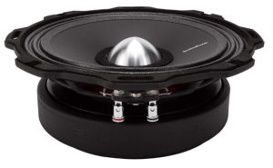 Rockford Fosgate PPS4-6 Punch PRO 6.5-Inch Single Midrange 4 Ohm Lou