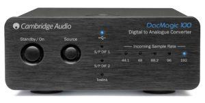 Cambridge Audio DacMagic 100 Black_ Gateway