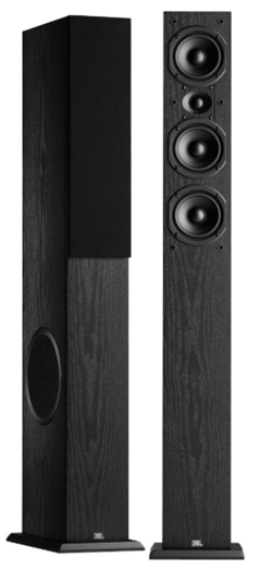 JBL Loft 50 Three-Way Dual 6-1_2_ Floorstanding Loudspeaker - Pair (