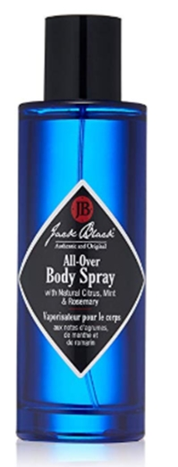 Jack Black - All-Over Body Spray, 3.4 fl oz - Natural Citrus Aroma,