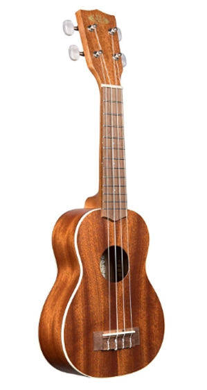 Kala, 4-String Ukulele, Brown, One Size (KA-S)_ Musical Instruments