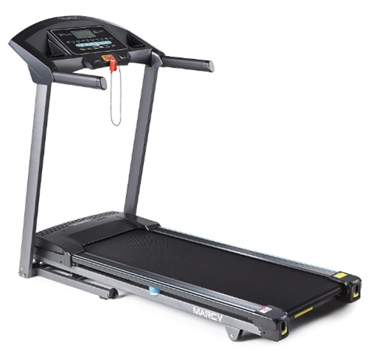 Marcy Folding Motorized Treadmill_Electric Running Machine - Easy A