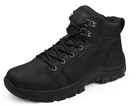 Mens Hiking Trekking Snow Boots Winter Waterproof Shoes Lace Up Anti