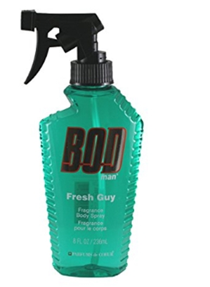 PARFUMS DE COEUR Bod Man Fresh Guy For Men Fragrance Body Spray, 8 o