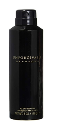 Sean John Unforgivable Body Spray for Men, 6 Ounce_ Beauty