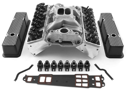 Speedmaster 1-435-003 Chevy SBC 350 Angle Cylinder Head Top End Engi
