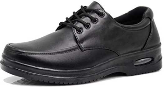AL Mens Black Oil Resistant Professional Industrial Anti Slip Restau