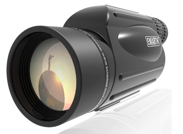 Emarth High Power 10-30X50 Zoom Monocular Telescope BAK4 Prism Wate