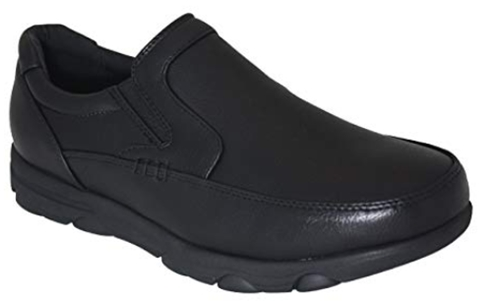 Gelato Moc-Toe Slip Resistant Men's Comfort Work Shoe with Water &