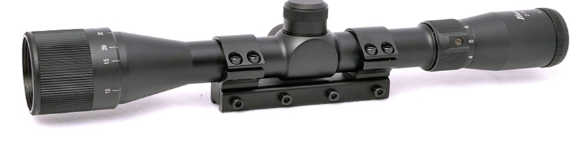 Hammers 3-9x32AO Air Rifle Scope with One-Piece Mount, Black _ Air