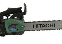Hitachi CS33EDTP 2-Stroke Gas Powered Top Handle Chain Saw with Pur