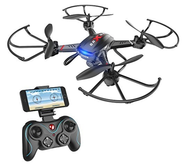 Holy Stone F181W WiFi FPV Drone with 720P Wide-Angle HD Camera Live