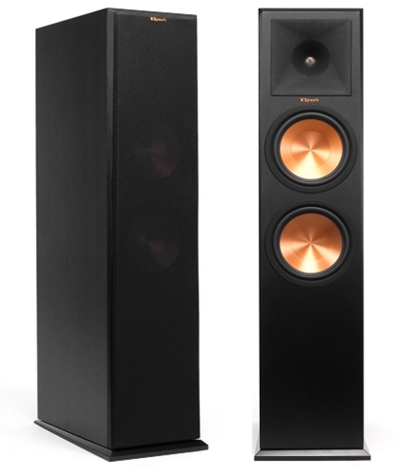 Klipsch RP-280F Floorstanding Speaker - Ebony (Each)_ Home Audio & T