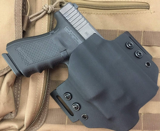 MIE Productions Kydex OWB Holsters for OLIGHT PL-Mini Valkyrie (Rig
