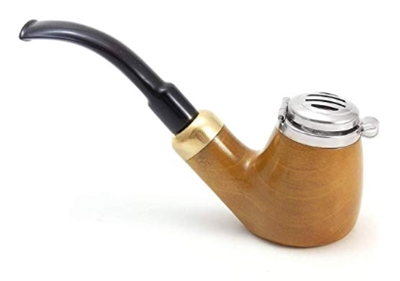 Mr. Brog Full Bent Smoking Tobacco Pipe - Model No_ 21 Old Army Yell