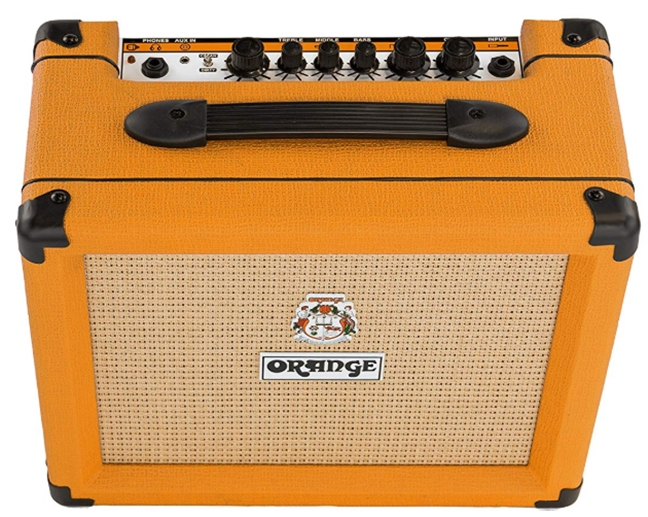 Orange Crush 20 Twin-Channel 20W Guitar Amplifier, Orange_ Musical I