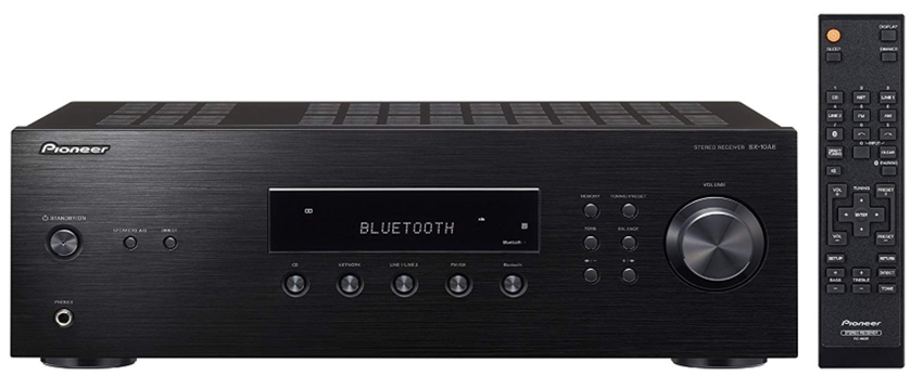 Pioneer Bluetooth Audio Component Receiver Black (SX-10AE)_ Electron