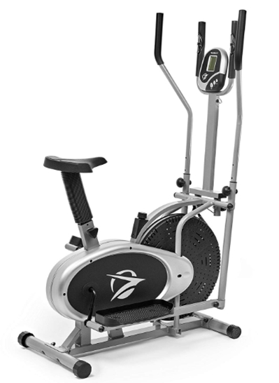 Plasma Fit Elliptical Machine Cross Trainer 2 in 1 Exercise Bike Ca