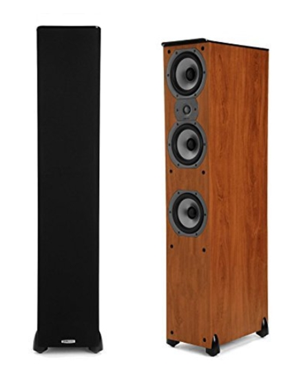 Polk Audio TSi400 Floorstanding Speaker (Cherry Pair)_ Electronics