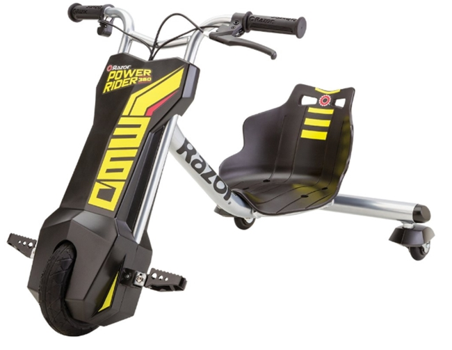 Razor Power Rider 360 Electric Tricycle _ Sports & Outdoors