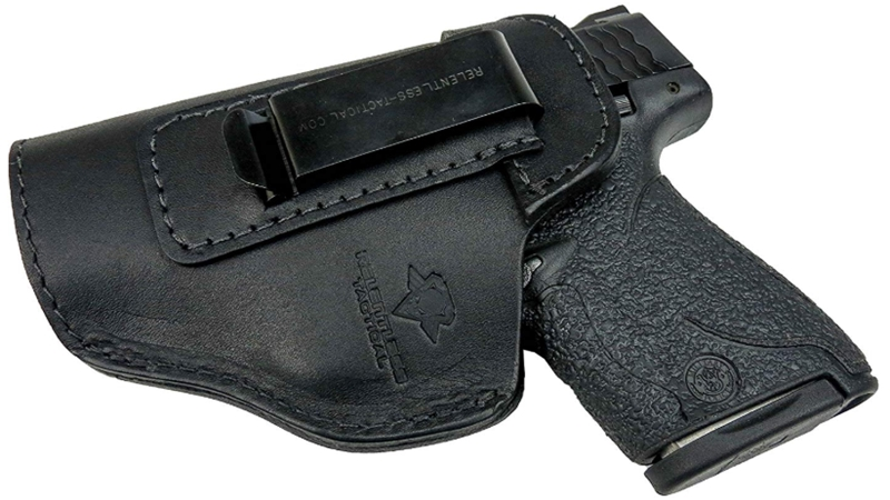 Relentless Tactical The Defender Leather IWB Holster - Made in USA