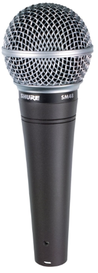 Shure SM48-LC Vocal Dynamic Microphone, Cardioid_ Musical Instrument