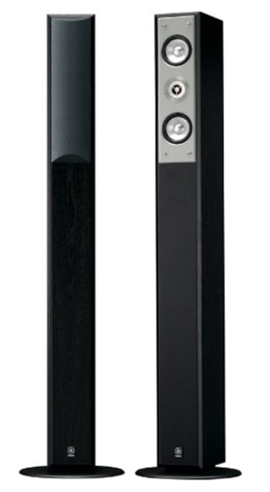 Yamaha NS-F210BL 2-Way Bass-Reflex Floorstanding Speaker - Each (Bla