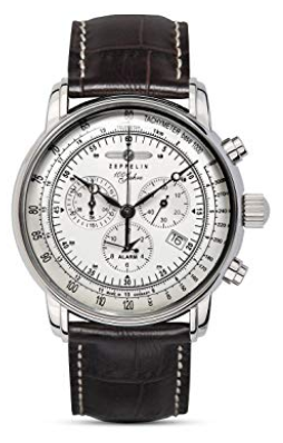 Graf Zeppelin Chronograph and Alarm Watch 7680-1_ Watches