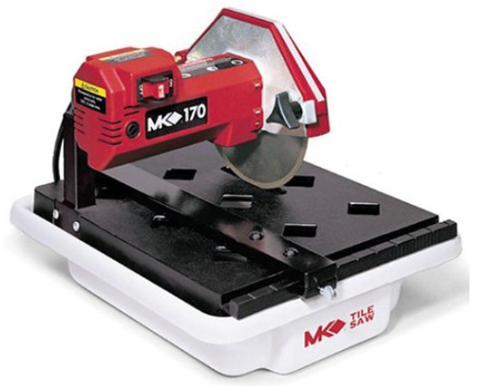 MK Diamond 157222 MK-170 1_3-Horsepower 7-Inch Bench Wet Tile Saw - Power Tile S