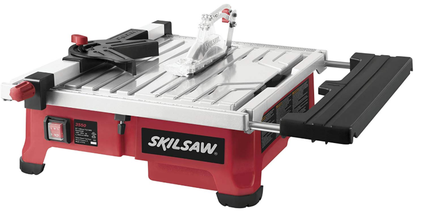 SKIL 3550-02 7-Inch Wet Tile Saw with HydroLock Water Containment System - - Ama