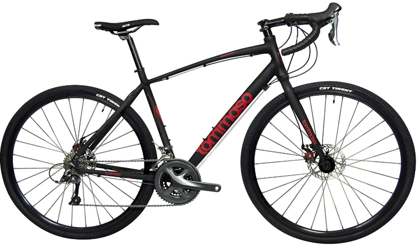 Tommaso Sentiero Shimano Claris Gravel Adventure Bike with Disc Bra