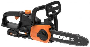 Worx WG322 20V Cordless Chainsaw with Auto-Tension