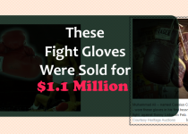 These Fight Gloves Were Sold for $1.1 Million